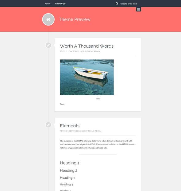 Lingonberry - Personal Blog Theme For WordPress