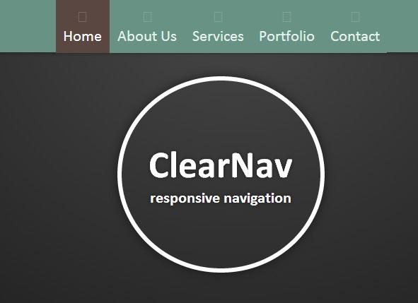 clear nav