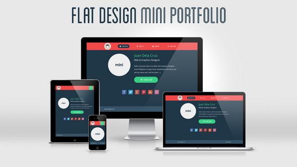flat-design-mini-portfolio-featured