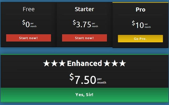 responsive html price box table template