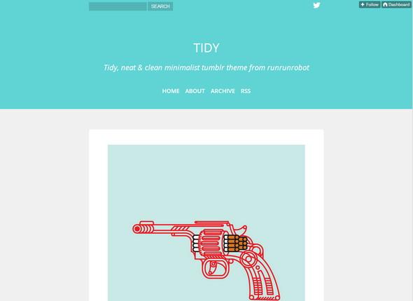 33 clean amp minimalist tumblr themes xdesigns - 590×430