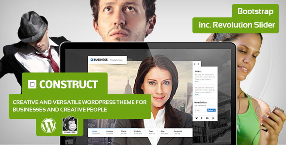 Construct - Creative Business Theme
