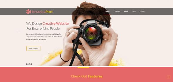 KreativePixel Website
