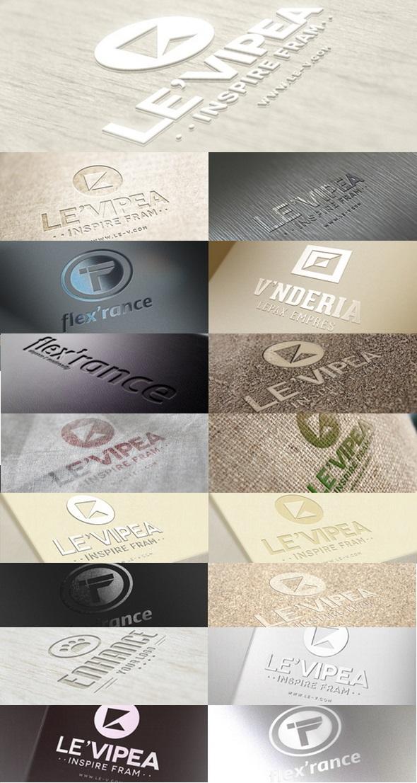 free Logo Mockup Psd templates
