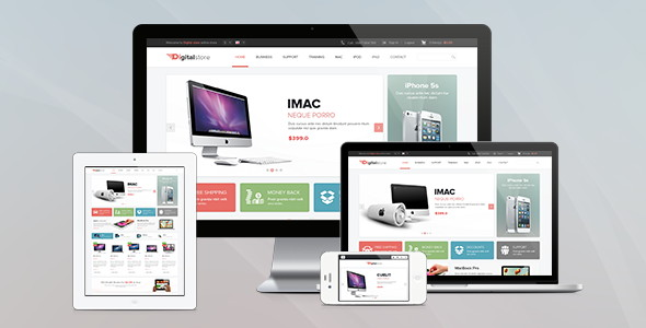 Pav Digital Store Responsive Opencart Theme