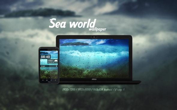 Sea World Wallpaper