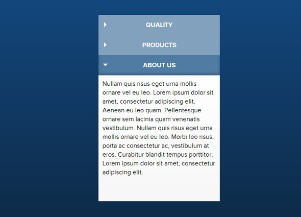 Simple jQuery Accordion