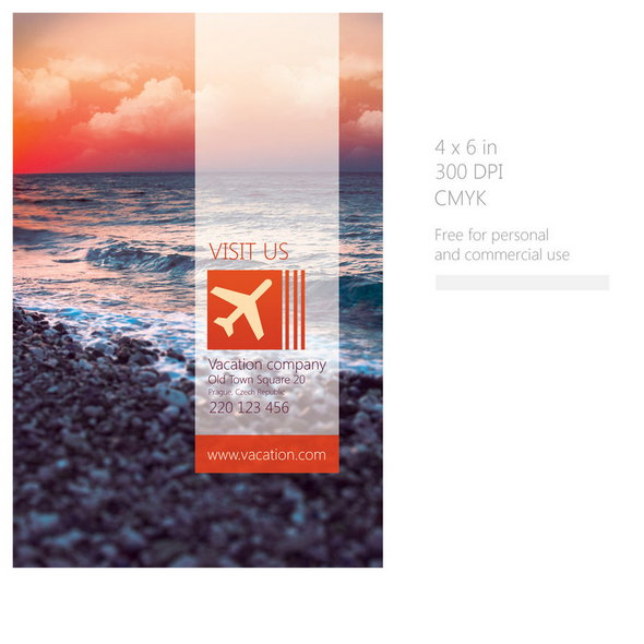 Vacation-Flyer