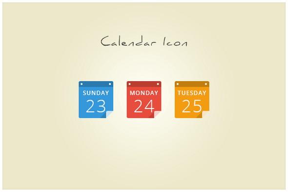 Calendar Design Icon : Best free calendar templates psd css wallpapers
