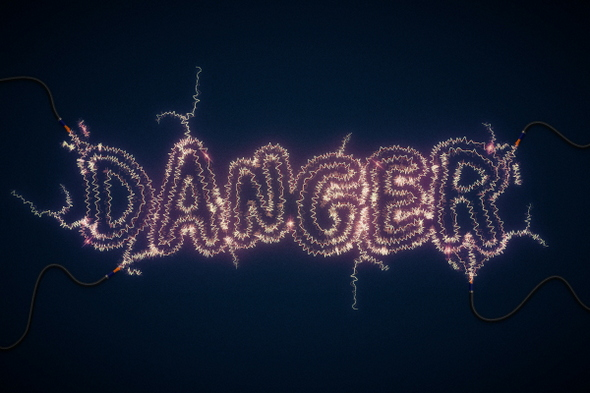 Create an Electric Text Effect