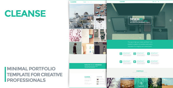 Minimal Portfolio HTML Template