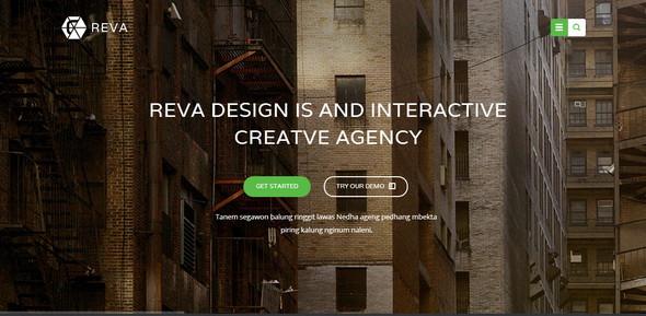 Reva HTML5 Template