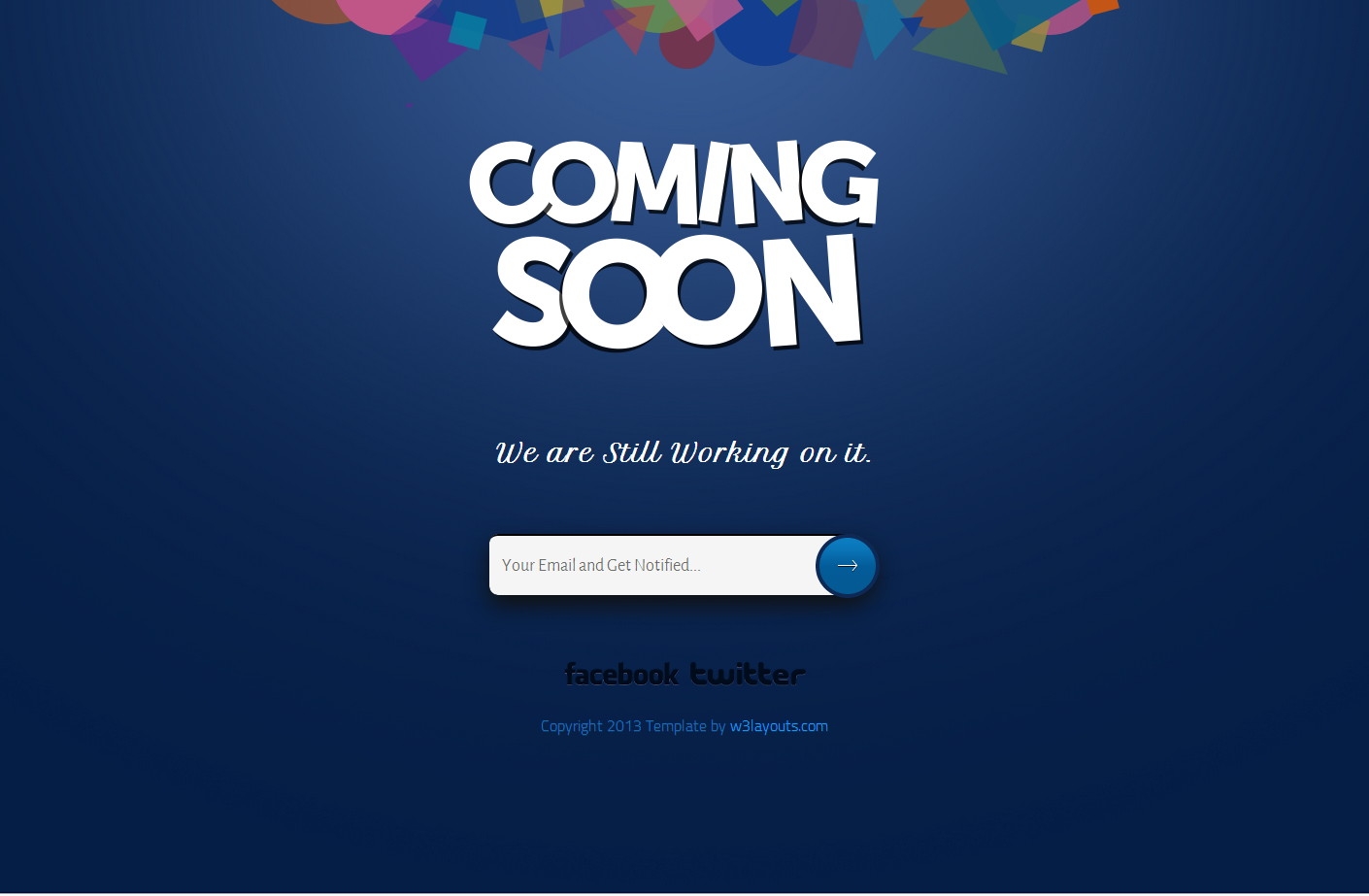 coming soon Website