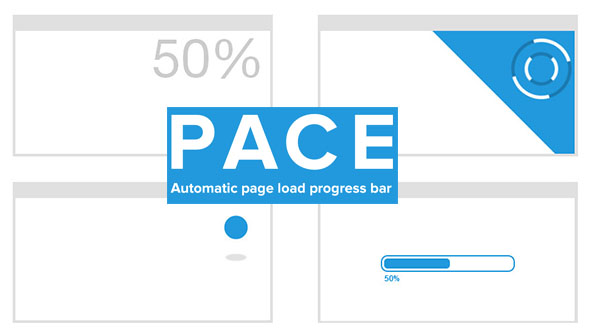 Pace page load progress bar