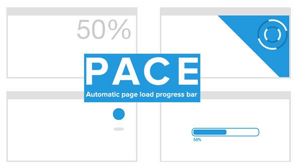 Pace page load progress bar