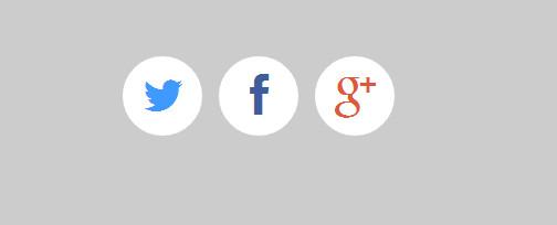 sexy social buttons
