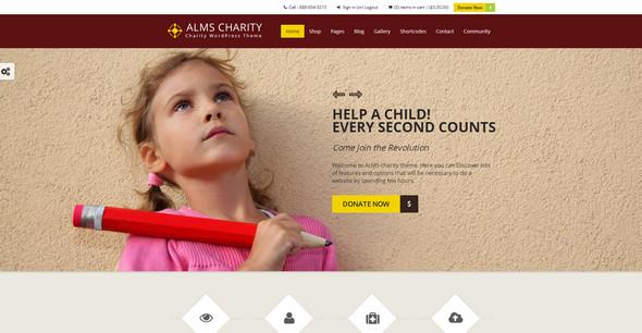 alms charity