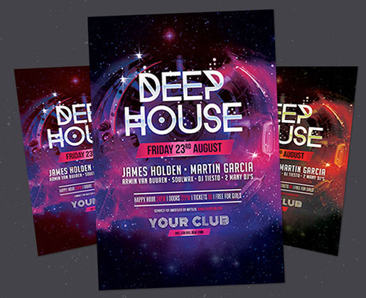 25 Free Photoshop Party Flyer Templates