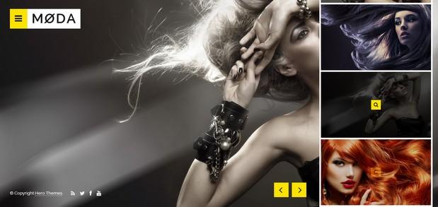 moda Photography WordPress Themes