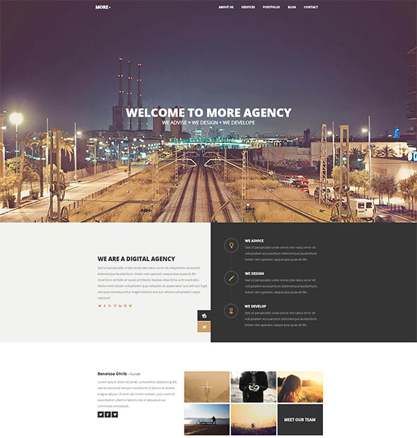 Creative One Page