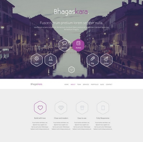 Professional-Onepage