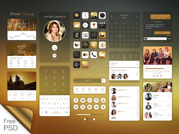 ios7_on_iPhone_gold_ui_kit