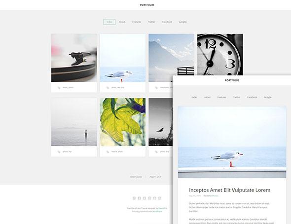 portfolio minimal