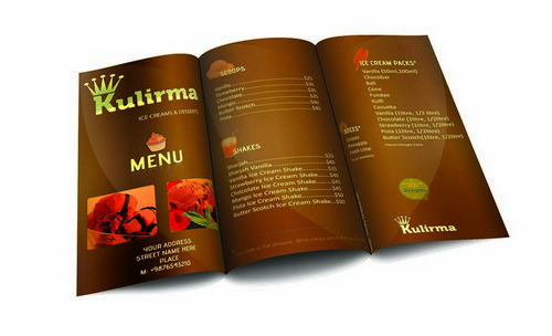 resturant brochure template
