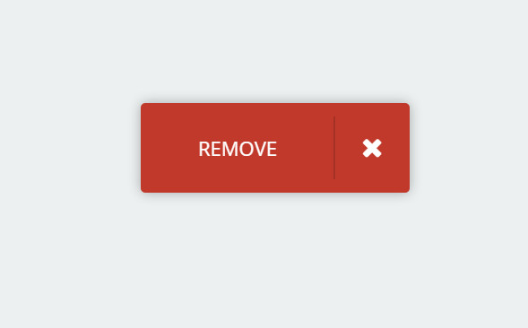 css3 button for removing content