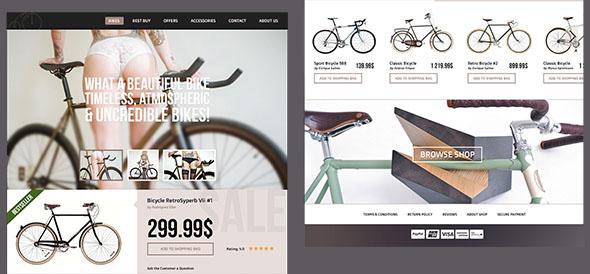 bikes ecommerce