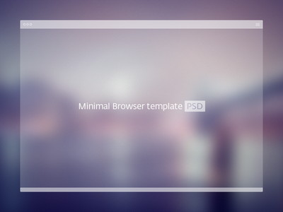white browser