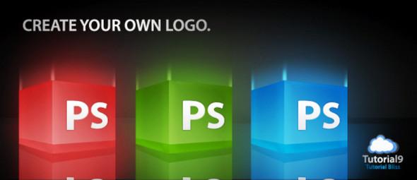 3D Glossy Box Logo