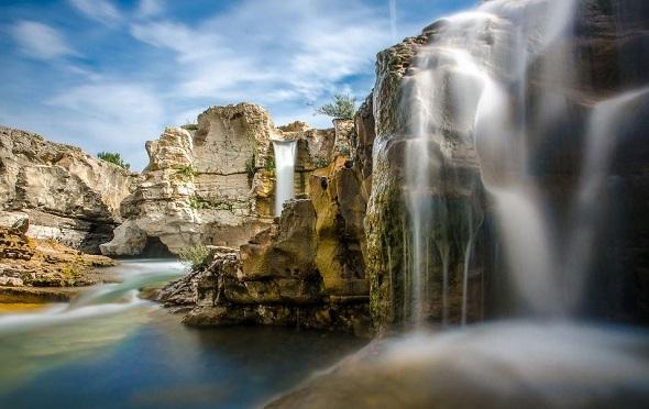 Sautadet Falls