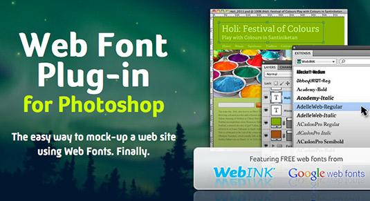 Web Font Plugin