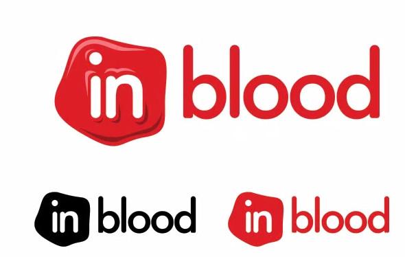logo in blood
