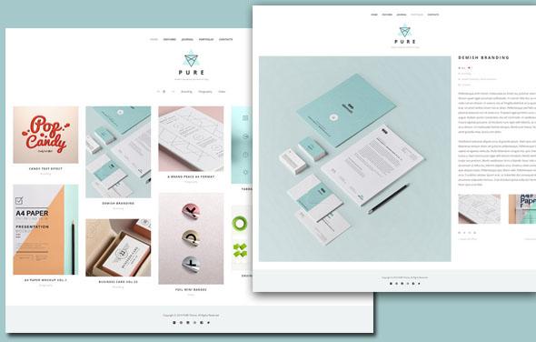 Free Portfolio WordPress Themes 2014