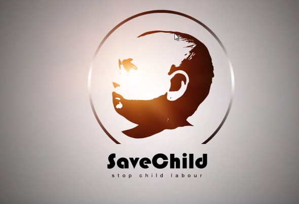 save child logo tutorial