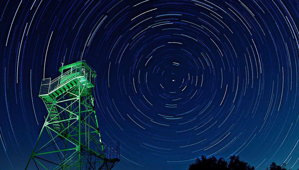 Yıldız uzun pozlama