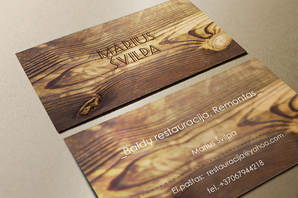 Business Cards for Restorer