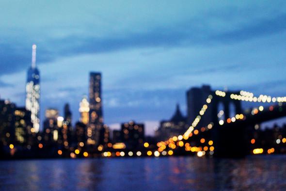 New York City Bookeh