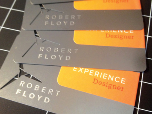 Personal Identity Business Cards