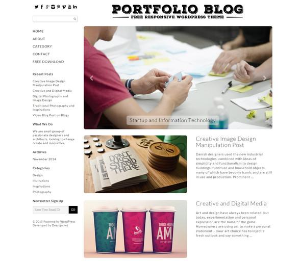 PortfolioBlogTheme