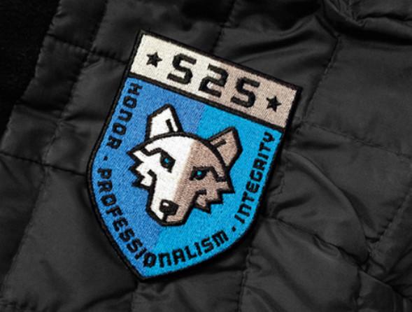Wolf Creek Security Badge