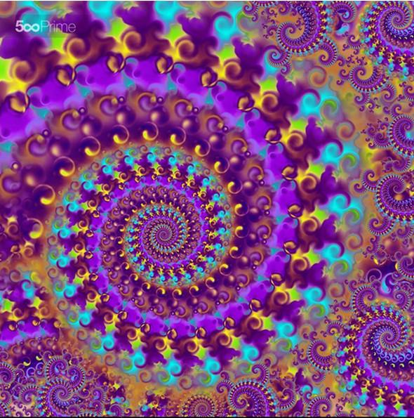 A crazy fractal