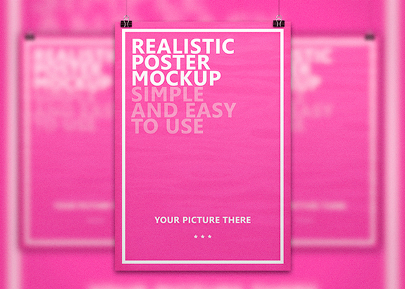 Realistic-Poster-Free-Mockup