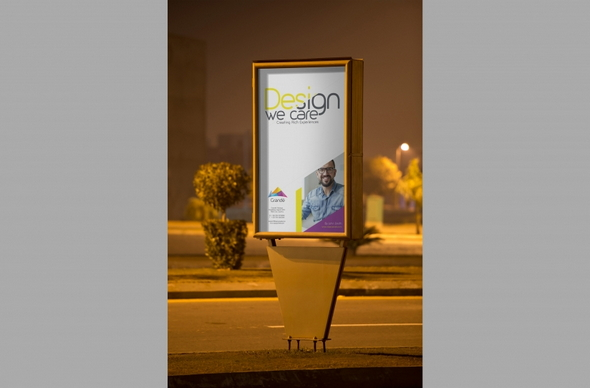 Roadside Poster Mockup