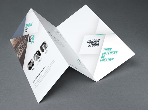 free brochure templates in PSD and vector