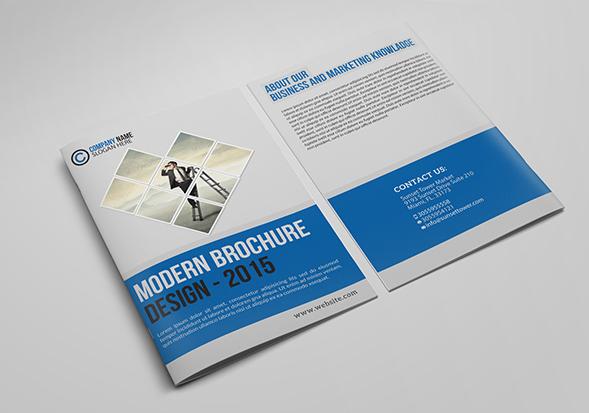 brochure moderne