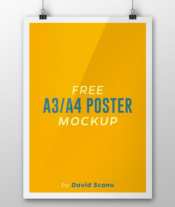poster mock
