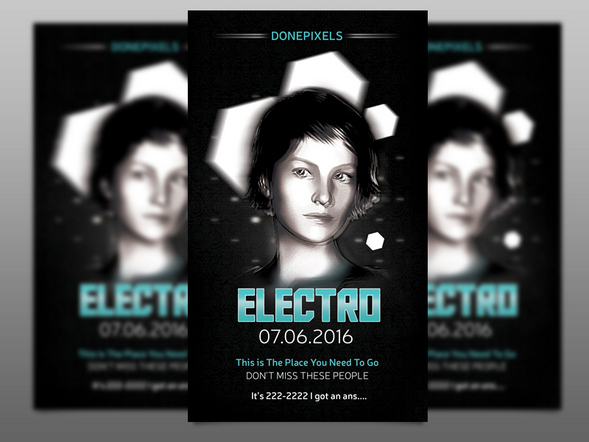 electro-free-flyer-template